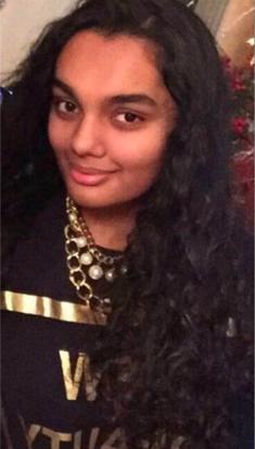 14 jarig meisje vermist: Amana Naylah Muradin