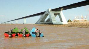 Bouw brug over Corantijnrivier nog onduidelijk.